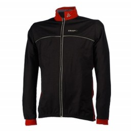 Craft Thermo Windstopper Jacket black/red M 940151